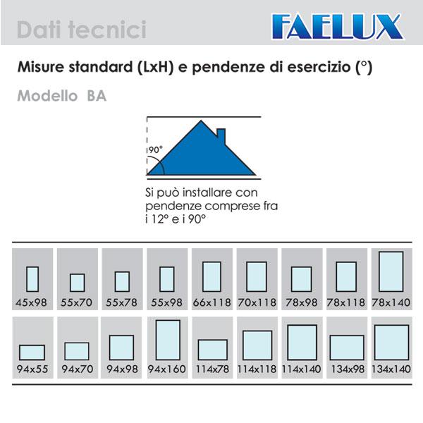 Rs infissi dettaglio prodotto - Dimensioni standard finestre ...